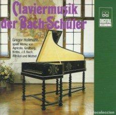 CDs de Música: CLAVIERMUSIK DER BACH-SCHÜLLER (GREGOR HOLLAMNN) (CD, ALBUM) (MD+G). Lote 269711803