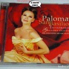 CDs de Música: PALOMA SAN BASILIO, ETERNAMENTE GRANDES ÉXITOS DE GRANDES MUSICALES, CD VENTURA, 2002, BSO, B S O. Lote 269715008