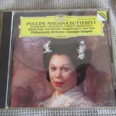 CDs de Música: PUCCINI - MADAMA BUTTERFLY - HIGHLIGHTS - JOSÉ CARRERAS - TERESA BERGANZA - CD. Lote 269723603