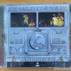 CDs de Música: BOB MARLEY - BABYLON BY BUS -. Lote 269738968