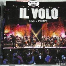 CDs de Música: IL VOLO, LIVE A POMPEI, DOBLE, CD + DVD, SONY, 2015, DIFÍCIL. Lote 269739163