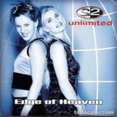 CDs de Música: 2 UNLIMITED - EDGE OF HEAVEN (CD, MAXI). Lote 236540960
