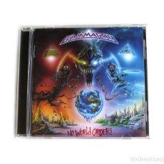 CDs de Música: GAMMARAY - NO WORLD ORDER!. Lote 269818753