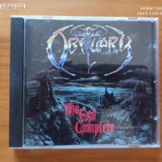 CDs de Música: CD OBITUARY - THE END COMPLETE (EL). Lote 269828488