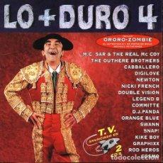 CDs de Música: VARIOUS - LO + DURO 4 (2XCD, COMP) (MAX MUSIC). Lote 269833698