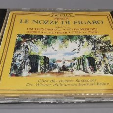 CDs de Música: LE NOZZE DI FIGARO MOZART 1991. Lote 269841893