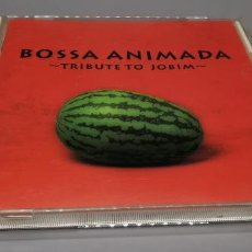 CDs de Música: BOSSA ANIMADA-TRIBUTE TO JOBIM. Lote 269842198