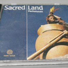CDs de Música: SACRED LAND - PACHATUSAN. Lote 269843003
