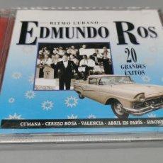 CDs de Música: EDMUNDO ROS – RITMO CUBANO-DISCO 1. Lote 269843768