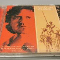CDs de Música: PACO DAMAS CANTA LOS VERSOS DEL QUIJOTE -. Lote 269843838