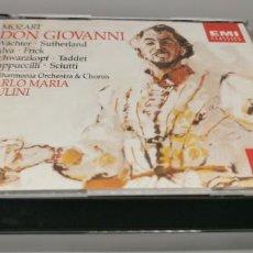 CDs de Música: OPERA MOZART: DON GIOVANNI. COMPLETA.EMI ELISABETH SCHWARZKOPF. Lote 269844478