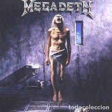 CDs de Música: -MEGADETH COUNTDOWN TO EXTINTION RISK USA 2 CD. Lote 269863013