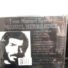 CDs de Música: -SERRAT MIGUEL HERNANDEZ. Lote 269881358