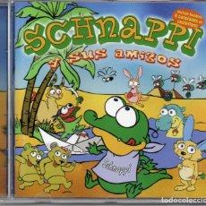 CDs de Música: SCHNAPPI Y SUS AMIGOS CDS INFANTIL INCLUYE TAMBIEN 6 CANCIONES EN CASTELLANO. Lote 269942438