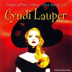 CDs de Música: CYNDI LAUPER - TIME AFTER TIME - THE BEST OF CYNDI LAUPER (CD, COMP) (D:NM). Lote 215267410