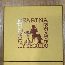 CDs de Música: JOAQUÍN SABINA …Y SEGUIDO 1992-2005 / 9CD + DVD. Lote 269951533