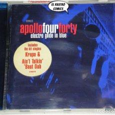 CDs de Música: APOLLO FOUR FORTY, ELECTRO GLIDE IN BLUE, CD SONY, 1997, BREAKBEAT. Lote 269971953