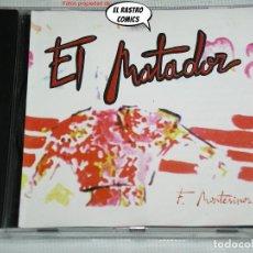 CDs de Música: EL MATADOR, F. MONTESINOS, CD CONTRASEÑA RECORDS, 1997, ELECTRONIC, EURO HOUSE. Lote 269973423