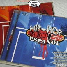CDs de Música: HIP HOP SOLO EN ESPAÑOL, VOLUMEN 4, DOBLE, CD + DVD, NAIMARA PRODUCCIONES. Lote 269975523