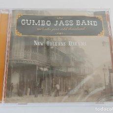 CDs de Música: GUMBO JASS BAND / NEW ORLEANS DREAMS / CD - 2005 / 15 TEMAS / PRECINTADO.. Lote 269995433
