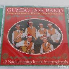 CDs de Música: GUMBO JASS BAND / 12 NADALES TRADICIONALS INTERNACIONALS / CD - 2002 / 13 TEMAS / PRECINTADO.. Lote 269995543
