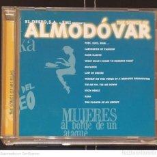 CDs de Música: THE SONGS OF ALMODOVAR (LUZ CASAL, MINA, CHAVELA VARGAS, LOLA BELTRAN....) CD 1997 - 23 TEMAS. Lote 269997358