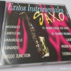 CDs de Música: SAXO ÉXITOS INSTRUMENTALES. Lote 270089723