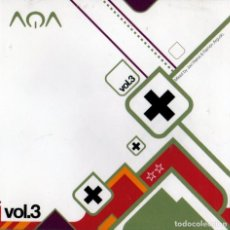 CDs de Música: AQA - VOL.3 - MIXED BY; RAMON AGUDO Y JAVI REINA. Lote 270095288