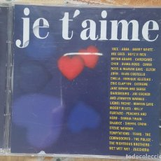 CDs de Música: JE TAIME CD. Lote 270123248
