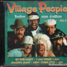CDs de Música: VILLAGE PEOPLE - TODOS SUS EXITOS VOL. 2 / CD ALBUM DE 1997 / MUY BUEN ESTADO RF-10056. Lote 270209723