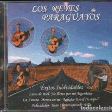 CD di Musica: LOS REYES PARAGUAYOS - EXITOS INOLVIDABLES VOL. 3 / CD ALBUM / MUY BUEN ESTADO RF-10074. Lote 270215923