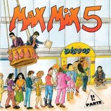 CDs de Música: CD MAX MIX 5 AQUITIENESLOQUEBUSCA ALMERIA. Lote 270245658