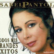 CDs de Música: ISABEL PANTOJA - TODOS MIS GRANDES EXITOS. 2 X CD. Lote 270344088