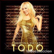 CDs de Música: CD CHRISTINA RAPADO TODO CON 18 TEMAS COMO NUEVO FIRMADO POR LA ARTISTA AQUITIENESLOQUEBUSCA ALMERIA. Lote 270354563