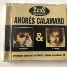CDs de Música: 2 CDS ANDRES CALAMARO- ALTA SUCIEDAD & EL CANTANTE. Lote 270372218
