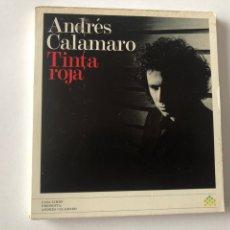 CDs de Música: CD ANDRÉS CALAMARO - TINTA ROJA. Lote 270372823