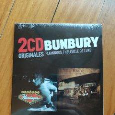 CDs de Música: 2CDS BUNBURY. FLAMINGOS Y HELLVILLE DELUXE. Lote 270386938