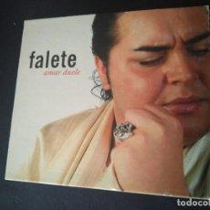 CDs de Música: FALETE. AMAR DUELE. FORMATO DIGIPAC. DISCO EN PERFECTO ESTADO. Lote 270396808