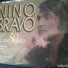 CDs de Música: NINO BRAVO DOBLE CD 50 ANIVERSARIO. PERFECTO ESTADO. Lote 270398648
