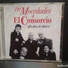 CDs de Música: DE MOCEDADES A EL CONSORCIO DOBLE CD 40 AÑOS DE MÚSICA 2010 PEPETO. Lote 270399218