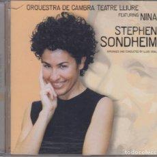 CDs de Música: ORQUESTRA DE CAMBRA TEATRE LLIURE FEATURING NINA CD STEPHEN SONDHEIM 2001. Lote 270402113