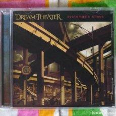 CDs de Música: DREAM THEATER - SYSTEMATIC CHAOS CD NUEVO Y PRECINTADO - METAL PROGRESIVO ROCK PROGRESIVO. Lote 270403758