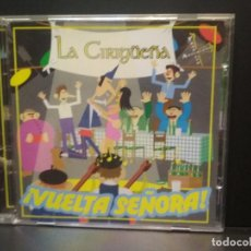 CDs de Música: LA CIRIGUEÑA ! VUELTA SEÑORA ¡¡ ASTURIAS CD ALBUM NUEVO¡¡ PEPETO. Lote 270405153