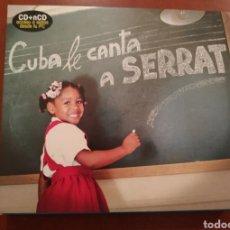 CDs de Música: CUBA LE CANTA A SERRAT. Lote 270406273