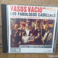 CDs de Música: LOS FABULOSOS CADILLACS VASOS VACIOS CD 1993 GRANDES ÉXITOS 85-93 SONY MUSIC 2-470319. Lote 270406738