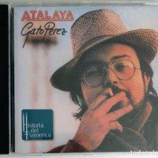 CDs de Música: RAREZA CD - GATO PÉREZ / ATALAYA - EXCELENTE ESTADO (EMI ODEON). Lote 270548518