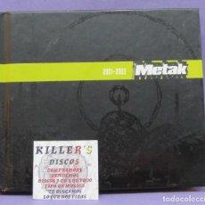 CDs de Música: METAK 2001-2003 - CD + DVD. Lote 270561393