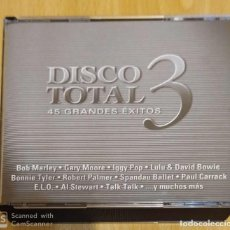 CDs de Música: DISCO TOTAL 3 (45 GRANDES EXITOS) 3 CD'S 2001 (BOB MARLEY, MIKE OLFIELD, BLONDIE, NINA SIMONE...). Lote 270566143