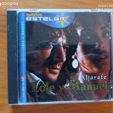 CDs de Música: CD LOLE Y MANUEL - ALJARAFE (EN). Lote 270568148