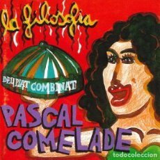 CDs de Música: PASCAL COMELADE – LA FILOSOFIA DEL PLAT COMBINAT - NUEVO Y PRECINTADO. Lote 270572133